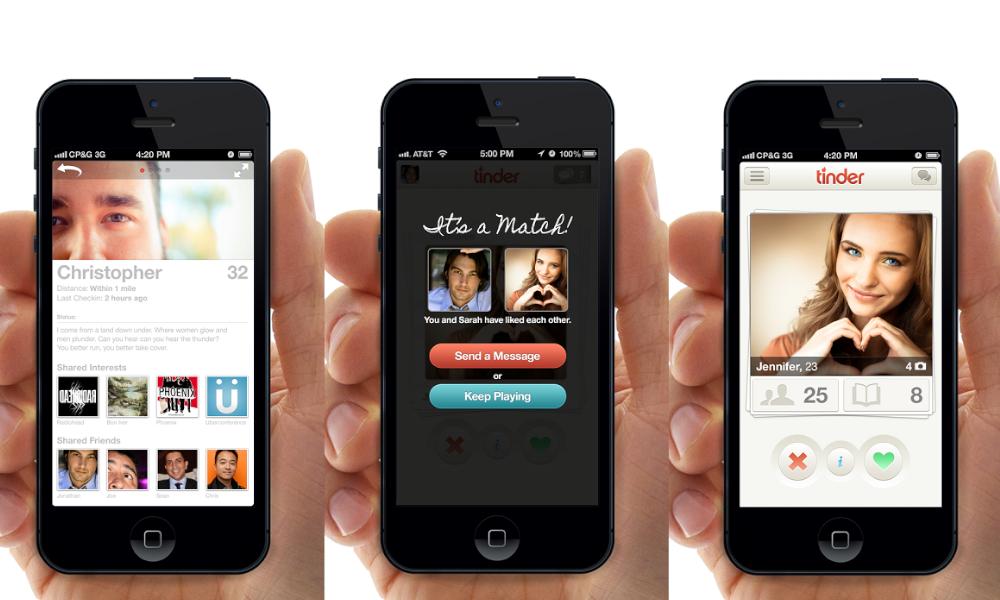 Tinder swipe app